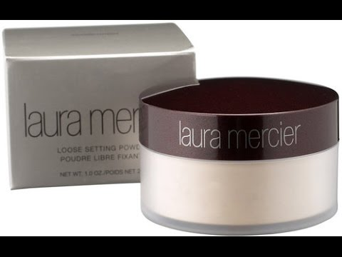 Laura Mercier Translucent Loose Setting Powder Review/Demonstration | TheBriaBEauty