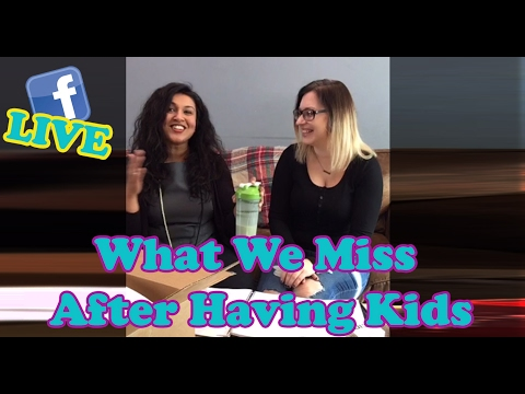 #thePINKLife Ep 42: LIVE Facebook - What We Miss After Having Kids
