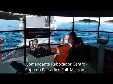 TPN - SMH | Manobras noTEBIG-Angra dos Reis (Simulação TPN-USP   Petrobras Jun/2017)