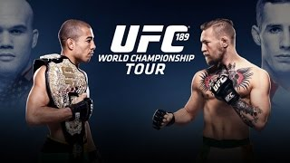 UFC 189: World Tour Press Conference