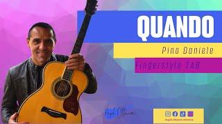 Quando - Pino Daniele - Chitarra con Guitar Tab