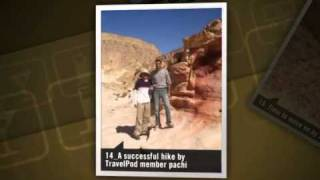 preview picture of video 'The Colored Canyon/A Bedouin lunch/Diving Pachi's photos around Nuweiba, Egypt (nuwaiba diving)'
