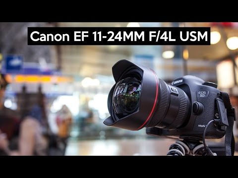 Canon EF 11-24mm F4L USM | hands on english review | the SUPER WIDE ANGLE LENS