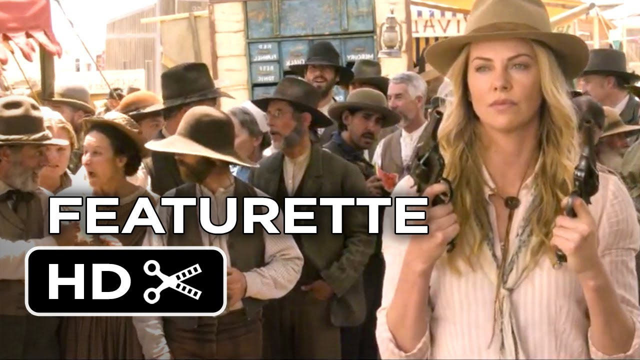 Video trailer för A Million Ways To Die In The West Featurette - A Look Inside (2014) - Charlize Theron Comedy HD