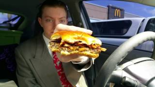 McDonald's New Signature Crafted Sweet BBQ Bacon Burger - Food Review - Video Youtube
