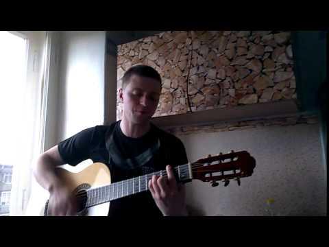 Брэйншторм - ветер (остановите пленку) кавер под гитару красивая песня