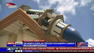 BMKG: Gempa Susulan di Lombok Terjadi 230 Kali
