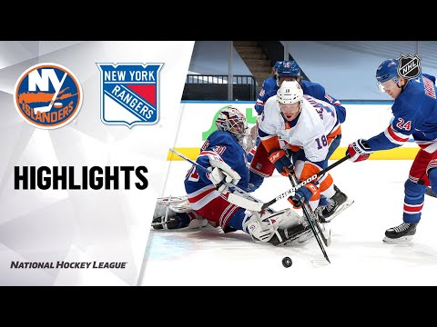 NHL Exhibition Highlights | Islanders @ Rangers 07/29/20