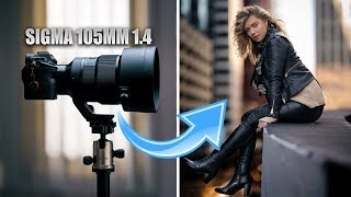 Sigma 105mm 1.4  hands on review| King of PORTRAIT LENSES?