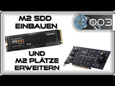 M2 SSD einbauen & PCIe Adapter nachrüsten