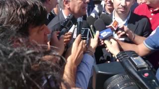 preview picture of video 'Alluvione Gargano: arrivo ministro Galletti a San Marco in Lamis'