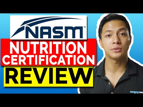 NASM (CNC) Certified Nutrition Coach Certification Review 2021 ...