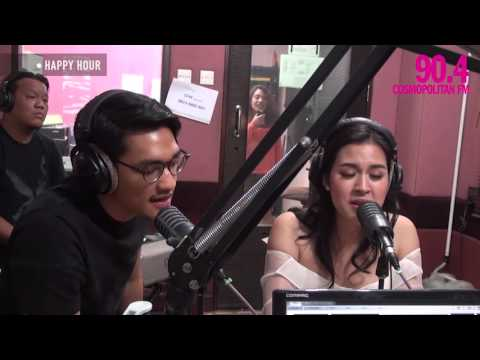 Happy Hour With Afgan Feat Raisa - Percayalah - CosmopolitanFM Jkt
