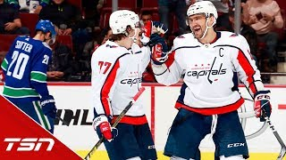 """""""It looks like the joy of playing is back for Ovechkin"""" - Ray Ferraro"""
