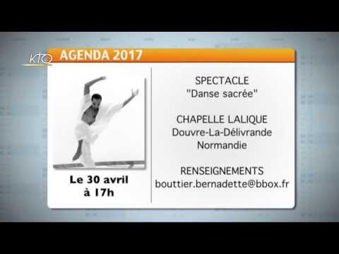 Agenda du 21 avril 2017