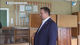 Губернатор Андрей Никитин побывал в боровичских образовательных и социальных учреждениях