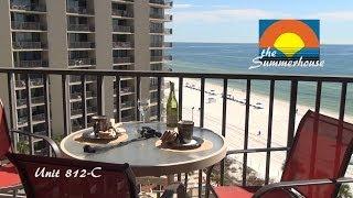 Unit 812-C Summerhouse Panama City Beach Vacation Condo