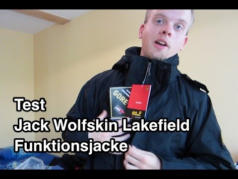 Test Jack Wolfskin Lakefield Jacke Funktionsjacke | Doppeljacke Test | Regenjacke Test