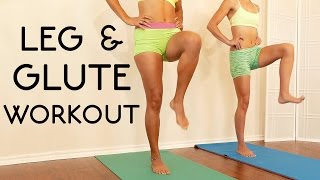 20 Minute Butt & Leg Workout for Beginners: Tone Legs, Thin Thighs, At Home Routine by PsycheTruth