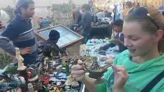 FLEA MARKET in DAHAB EGYPT / Блошинный пятничный рынок в Дахабе Египет