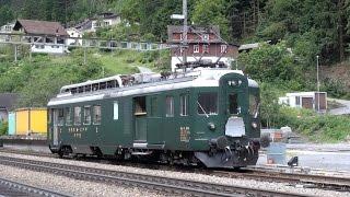 Gotthard railway and tunnel cab ride, Switzerland best ride !
