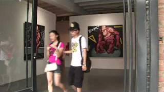 Video : China : Some scenes at the 798 Art Zone, DaShanZi, Beijing - video