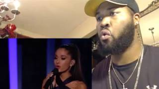 Ariana Grande Just A Little Bit Of Your Heart Live Grammy's 2015 - REACTION