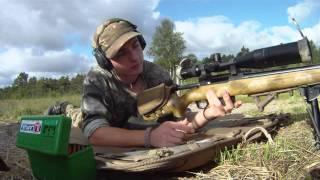 LongrangeSweden -Tikka T3 6,5x55swe Accuracy and precision test