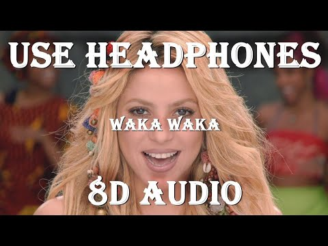 Waka Waka | Shakira (8d audio song) Bass Boosted |English Song