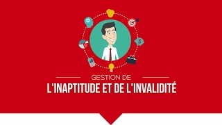 """Formation """"Inaptitude, invalidité et reclassement dans la fonction publique"""""""