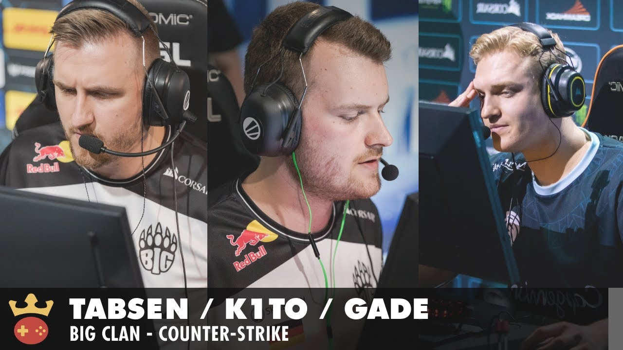 Video of Interview with tabseN, k1to, and gade from BIG at IEM Fall 2021