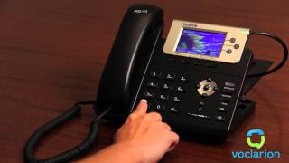 Voclarion: Unconditional Call Forward - Set UCF to Bounce to PBX