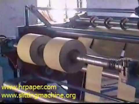 Slitting Rewinding Cum Flexo Printing Machine