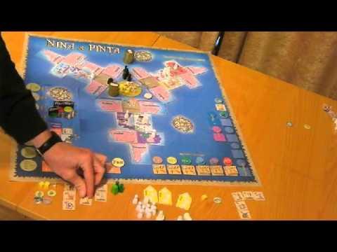 Nina and Pinta - the Solo Game