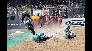 CRAZY AND FUNNY MOTORSPORT MOMENTS 2018!!