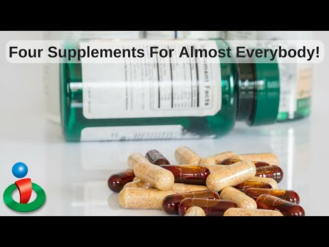 4 Supplements This Doctor Takes Every Day