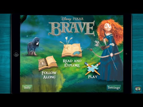 Download ♥ Disney's Brave Storybook Deluxe - Merida By Disney - IPhone/Ipad HD Mp4 3GP Video and MP3