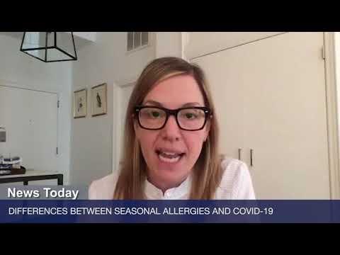 Różnice pomiędzy sezonową alergią a infekcją COVID-19