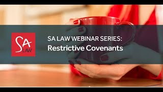 The most effective use of Restrictive Covenants in employment contracts