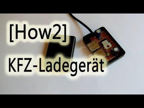 [How2]KFZ USB Ladegerät selbst gebaut!