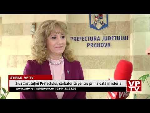 Ziua Instituției Prefectului, sărbătorită pentru prima dată în istorie