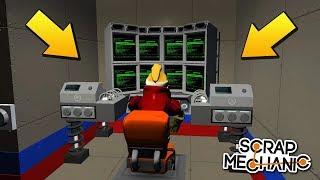 БАБКИ СПРЯТАЛИСЬ ОТ ИНОПЛАНЕТЯН В СЕКРЕТНОМ БУНКЕРЕ (2 СЕРИЯ) МУЛЬТИК в Scrap Mechanic !!!