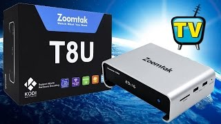 Zoomtak T8U, 2.5''HDD Android TV Box On Amlogic S905