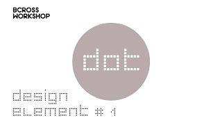 【平面设计】设计元素【点】的分享_element of design principle [dot]【教学教室】