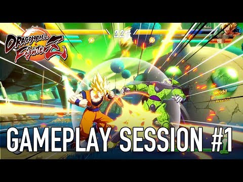 Dragon Ball FighterZ – XB1/PS4/PC – Gameplay session #1