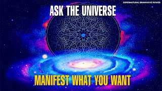 "Ask The Universe !! Wish Fulfilling Miracle Tone 528 Hz!! Manifest What You Want ""MIRACLE HAPPENS"""