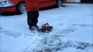 Žaislinis RC vikšrinis traktorius-sniego valytuvas | Dickie