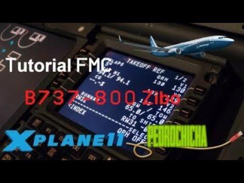 Como voar no Boeing Zibo 737-800? Tutorial completo FMC/CDU