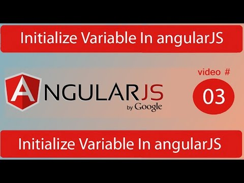 initialize variable in angularjs