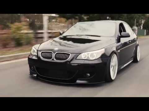 Bagged BMW 5 Series 545i (E60)